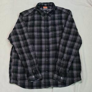 Merrell Shirts - Merrell Reversible Long Sleeve Shirt Men's Size L